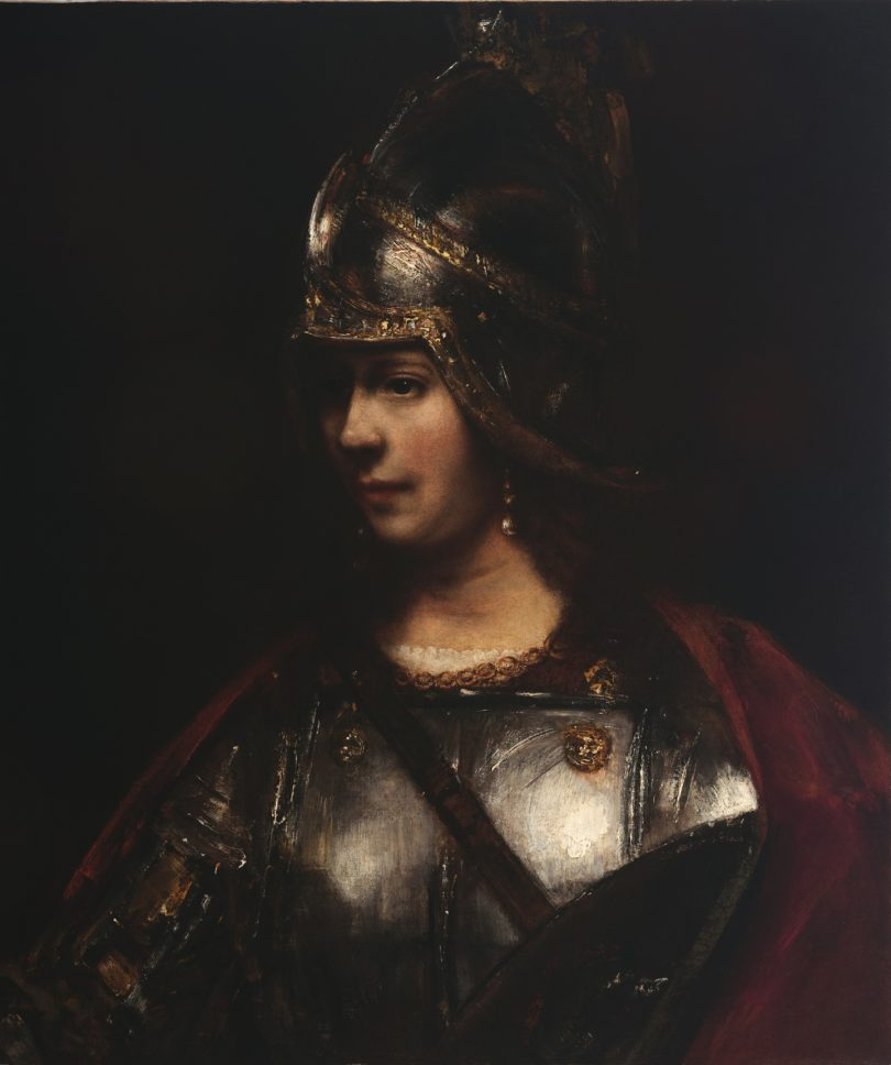 Rembrandt Pallas Athene